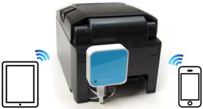 mettre en wifi une imprimante