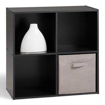 meuble cube noir
