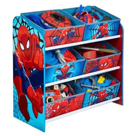 meuble de rangement spiderman