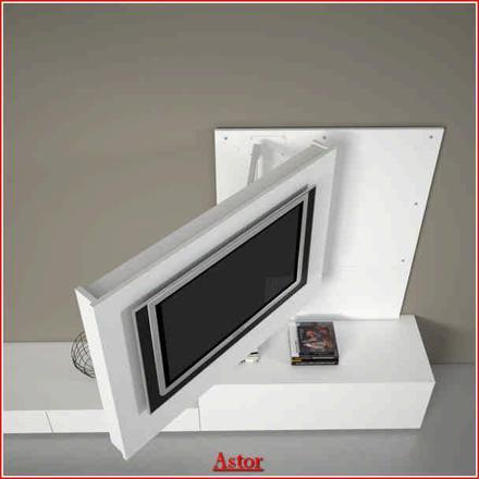 meuble tv avec bras articulé