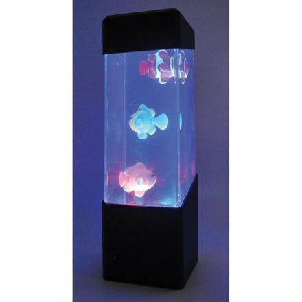 mini aquarium lumineux