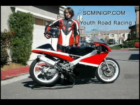 mini moto ovale