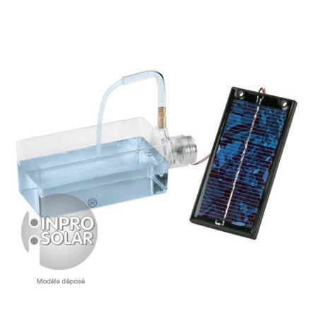 mini pompe a eau solaire