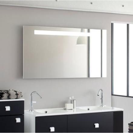 miroir de salle de bain lumineux retro-éclairé
