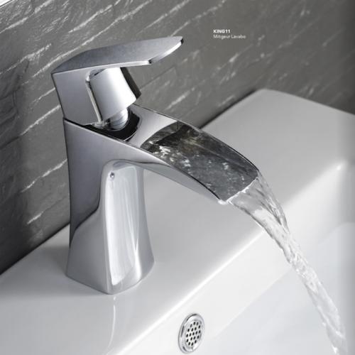 mitigeur lavabo cascade