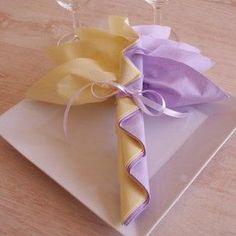 modèle pliage serviette