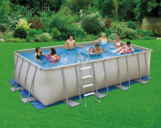 montage piscine hors sol rectangulaire