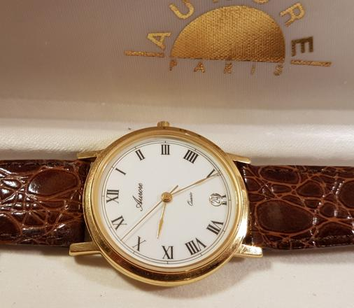 montre aurore quartz