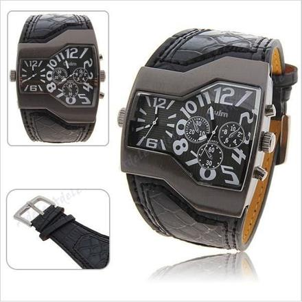 montre bracelet large homme