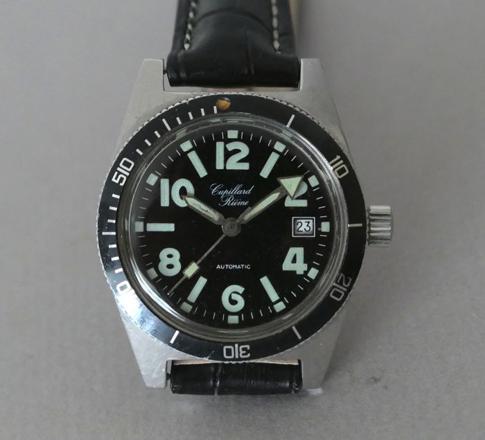 montre de plongée vintage