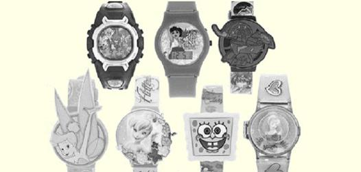 montre disney adulte