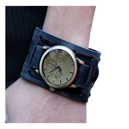 montre femme bracelet large