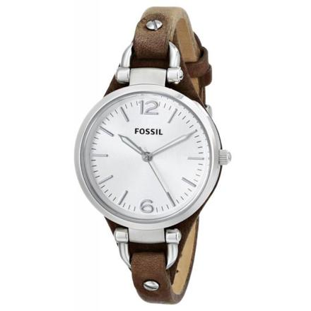 montre femme fossil cuir