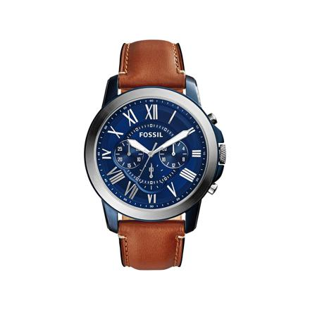 montre fossil cuir