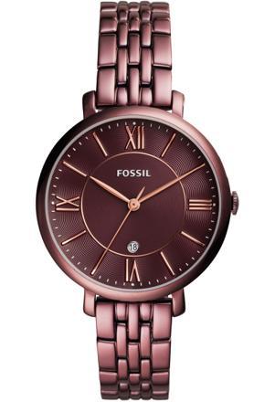 montre fossil femme marron