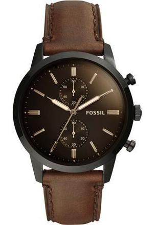 montre fossil homme marron