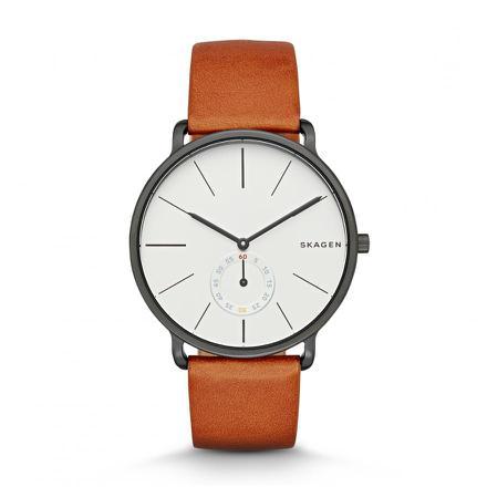 montre homme bracelet marron