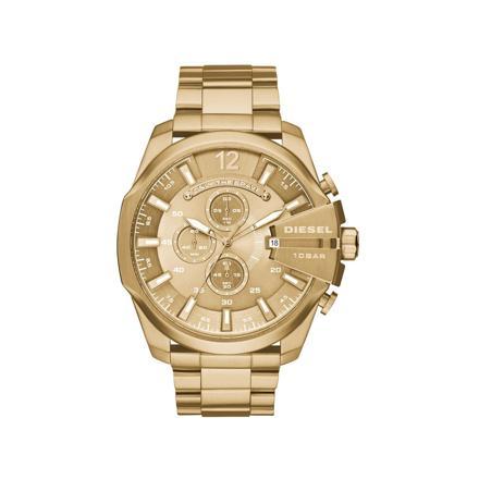 montre homme doré