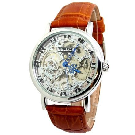 montre homme mecanisme apparent