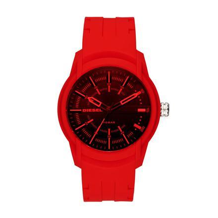 montre homme rouge