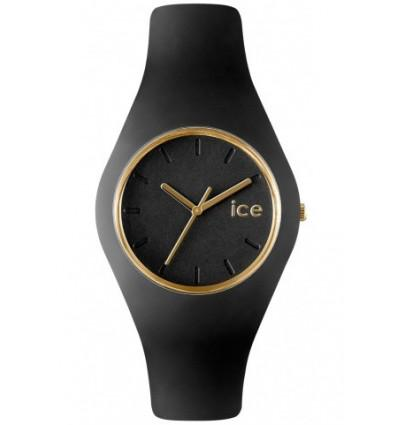 montre ice noir et or
