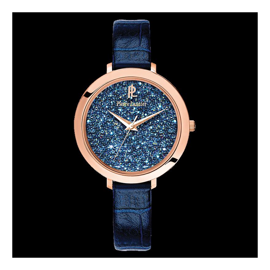 montre pierre lannier bleu