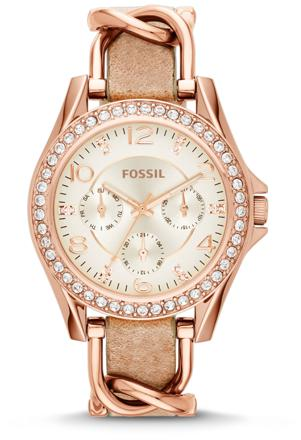montre riley fossil