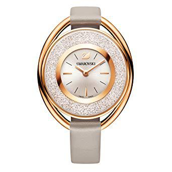 montre swarovski or rose
