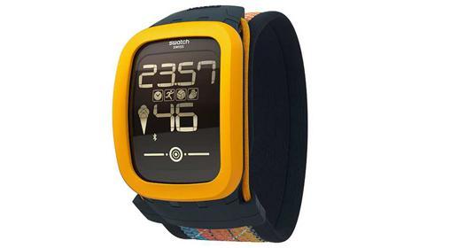 montre swatch connectée