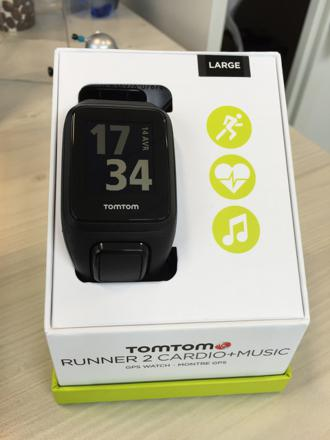 montre tomtom runner 2 music
