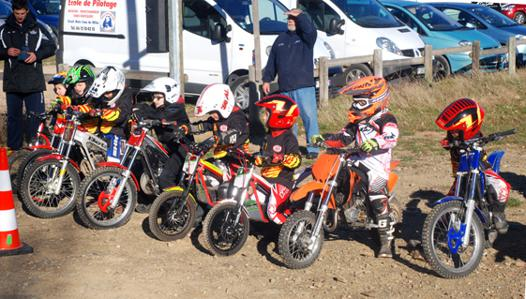 moto cross 6 ans