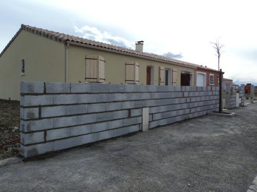 mur extérieur maison