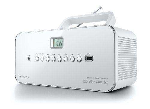 muse m 28 rdw radio lecteur de cd mp3 usb