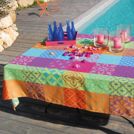nappe multicolore
