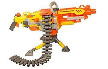 nerf pistolet mitraillette