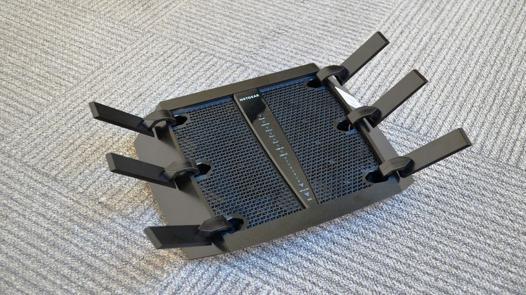 netgear r8000-100pes routeur wi-fi nighthawk x6 ac3200 tri-band