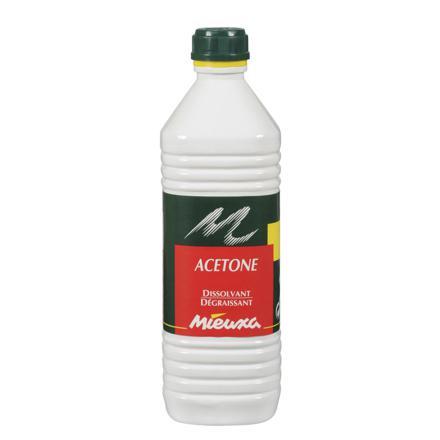 nettoyage acetone