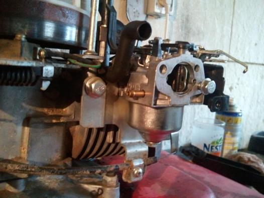 nettoyage carburateur tondeuse honda