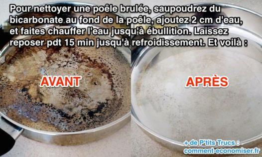 nettoyer avec du bicarbonate de soude
