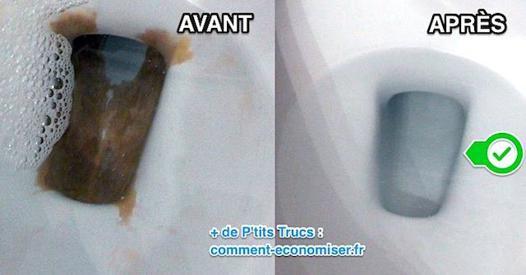 nettoyer calcaire wc