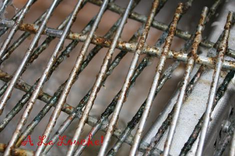 nettoyer les grilles du four
