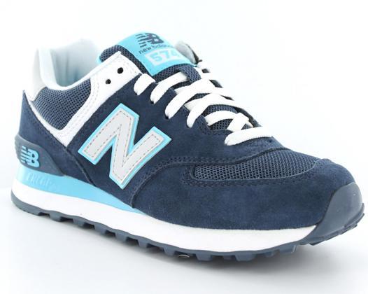 new balance 574 bleu