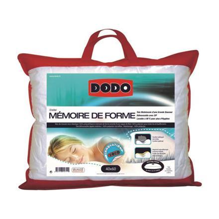 oreiller à mémoire de forme dodo