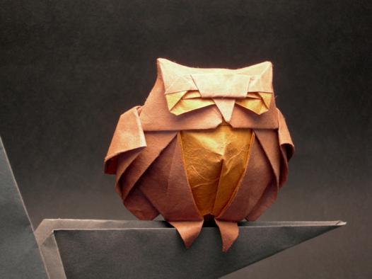 origami chouette papier