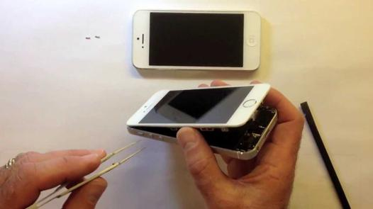 ouvrir iphone 4 sans tournevis