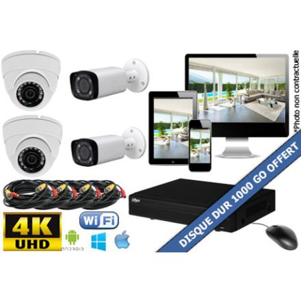 pack camera de surveillance