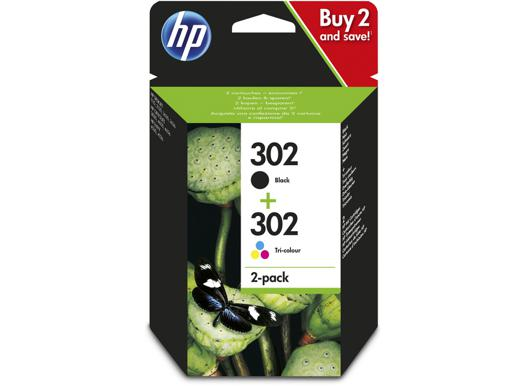 pack cartouche hp 302
