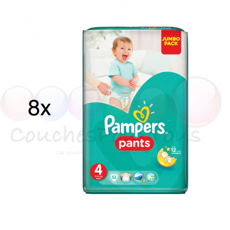 pampers pants taille 4