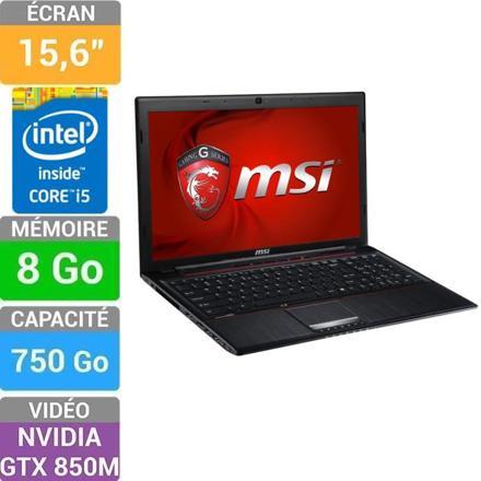 pc portable msi ge60