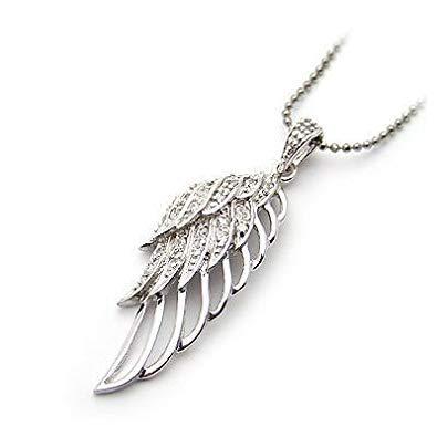 pendentif aile d ange argent